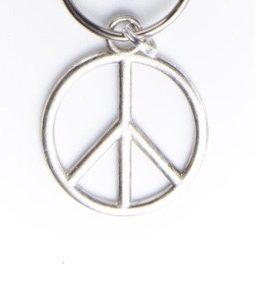 Breloque peace and love